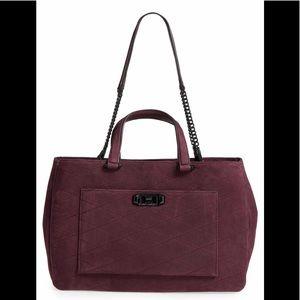 Rebecca Minkoff Je Taime Bag in Dark Cherry
